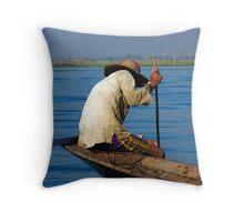 Fisherman Inle Lake (5) Throw Pillow