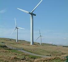 Wind Turbines 4 by TREVOR34