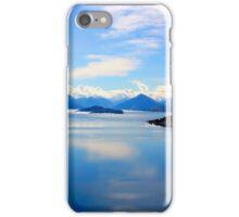 New Zealand Lake Digitised iPhone Case/Skin