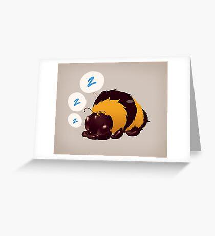 Bz z z Greeting Card