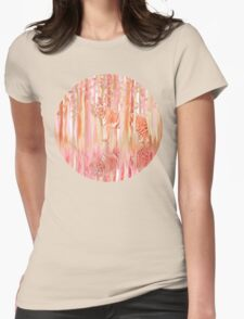 Tiger in the Trees Womens Fitted T-Shirt