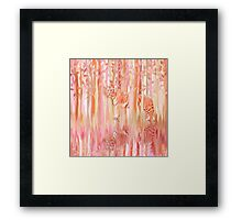Tiger in the Trees Framed Print