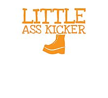 LITTLE ASS KICKER! with steel boot Photographic Print