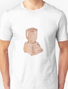 Blender Vintage Etching T-Shirt