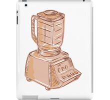 Blender Vintage Etching iPad Case/Skin