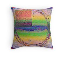 Squared Vision II Throw Pillow