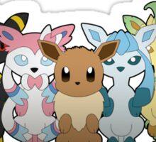 Pokemon: Eeveelution V.2 Sticker
