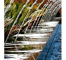 Shooting Water Display Photographic Print