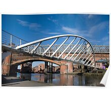 Castlefield bridge Poster
