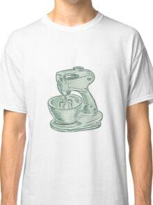 Kitchen Mixer Vintage Etching Classic T-Shirt