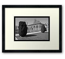 Creative Gardening: Cliveden, Buckinghamshire, UK. Framed Print