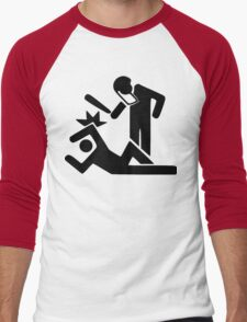Police Brutality, Design Men's Baseball ¾ T-Shirt