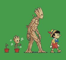 Groot x Pinocchio Kids Clothes