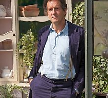 Monty Don At RHS Hampton Court Palace Flower Show 2015 by Keith Larby