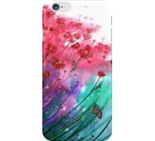 Dancing Poppies  iPhone Case/Skin