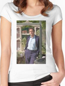 Monty Don At RHS Hampton Court Palace Flower Show 2015 Women's Fitted Scoop T-Shirt