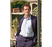 Monty Don At RHS Hampton Court Palace Flower Show 2015 Photographic Print