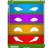 TMNT Masks iPad Case/Skin