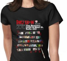 DMU SH*W 2010 (white text) Womens Fitted T-Shirt