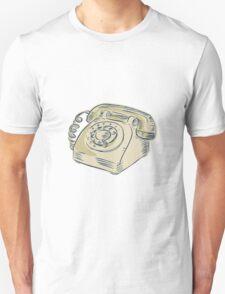 Telephone Vintage Etching T-Shirt