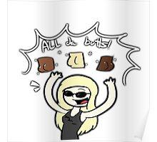 All da butts! Poster