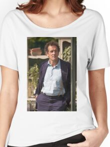 Monty Don At RHS Hampton Court Palace Flower Show 2015 Women's Relaxed Fit T-Shirt