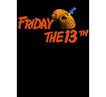 Friday the 13th Photographic Print