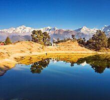 Lake Deoria in the Himalaya by soumen