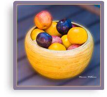 Da Fruiti Canvas Print