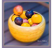 Da Fruiti Photographic Print