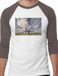 """The Last Laugh"" B52,Avalon Airshow,Australia 2015 Men's Baseball ¾ T-Shirt"