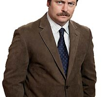 ron swanson by lukecorallo
