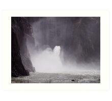 Under the Owhyee Dam, Malheur County Oregon Art Print