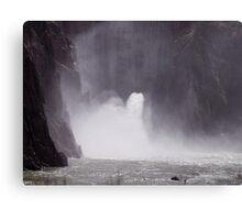 Under the Owhyee Dam, Malheur County Oregon Canvas Print