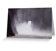 Under the Owhyee Dam, Malheur County Oregon Greeting Card