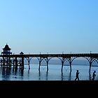 Children on Clevedon Sunset by blondie1sammo