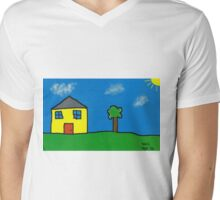 Neil Beatons House Mens V-Neck T-Shirt