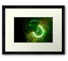 The Green Zone Framed Print