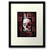 Punk Phunk Framed Print