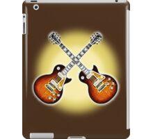 Crossed Guitars iPad Case/Skin