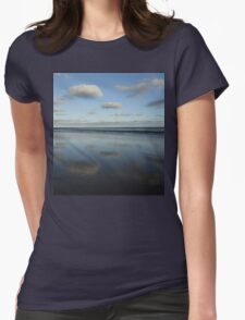 Cloud & Sky Reflections, Breamlea Beach, Australia 2014 Womens Fitted T-Shirt
