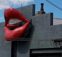 The Lips of Newtown Sydney by Norman Herfurth
