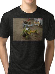 Spare Parts Aircraft Sculptures, Cunderdin Airshow, Australia 2005 Tri-blend T-Shirt