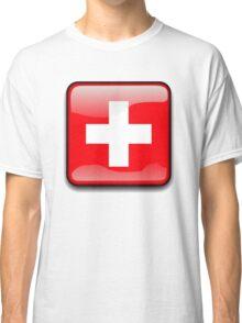 Switz Flag, Switzerland Icon Classic T-Shirt