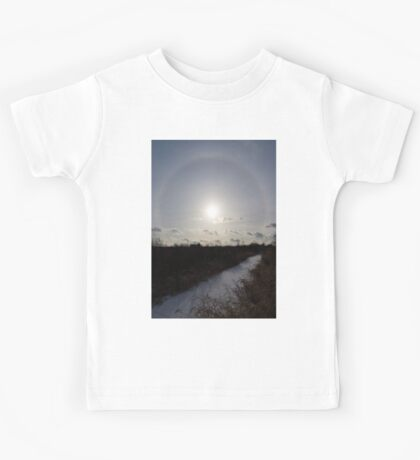 Sun Halo - a Beautiful Optical Phenomenon Kids Tee