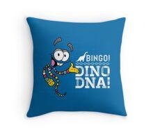 Jurassic Bingo! Throw Pillow