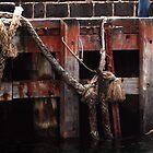 Weathered Well - Mornington Pier by Karen Coulter