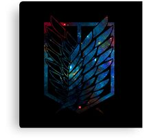 Wings Of Justice: Galaxy Canvas Print