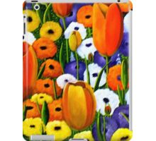 Spring Explosion  acrylic painting iPad Case/Skin