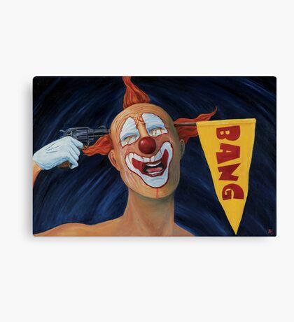 The Clowngun Tragicomedy Canvas Print
